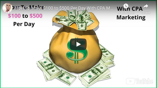 How to make $100 to $500 per day